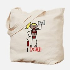 I Pump Tote Bag