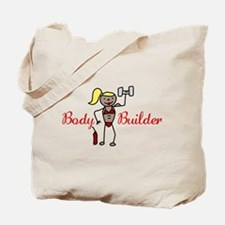 Body Builder Tote Bag