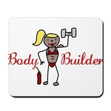 Body Builder Mousepad