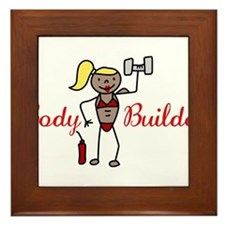 Body Builder Framed Tile