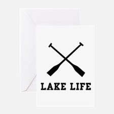 Lake Life Greeting Card