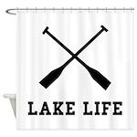 Lake Life Shower Curtain