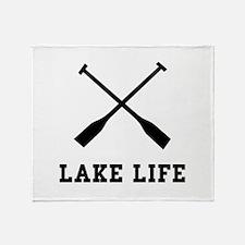 Lake Life Throw Blanket