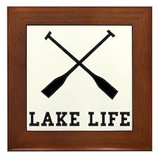 Lake Life Framed Tile