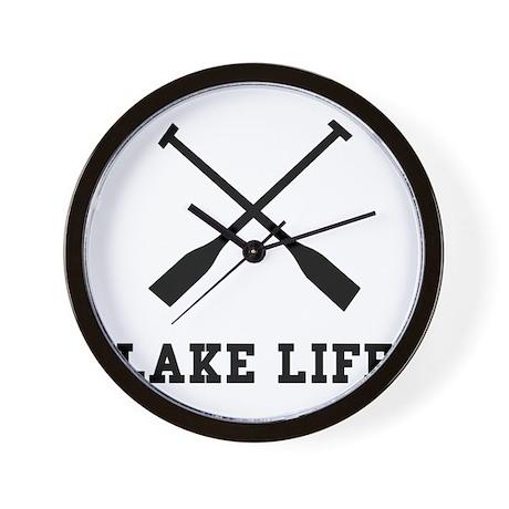 Lake Life Wall Clock