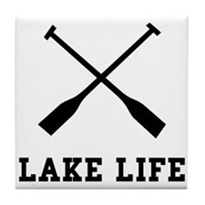 Lake Life Tile Coaster