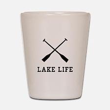 Lake Life Shot Glass