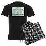 Reptile Dysfunction 3 Men's Dark Pajamas