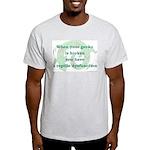 Reptile Dysfunction 3 Light T-Shirt