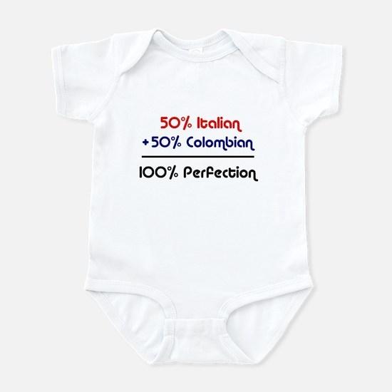 Italian & Colombian Infant Bodysuit