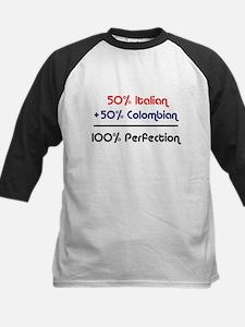 Italian & Colombian Kids Baseball Jersey