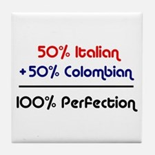 Italian & Colombian Tile Coaster