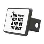 Pat On Back Rectangular Hitch Cover