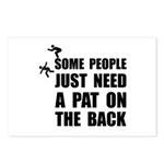 Pat On Back Postcards (Package of 8)