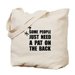 Pat On Back Tote Bag