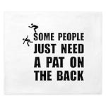 Pat On Back King Duvet