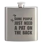 Pat On Back Flask