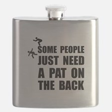 Pat On Back Flask