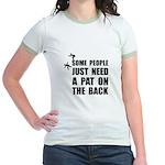 Pat On Back Jr. Ringer T-Shirt