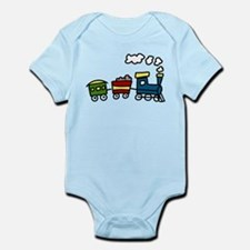 Choo-Choo Train Infant Bodysuit