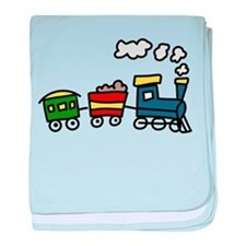 Choo-Choo Train baby blanket