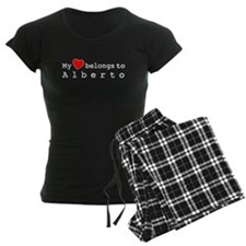 My Heart Belongs To Alberto Pajamas