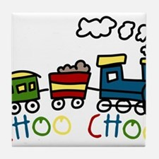 Choo Choo Tile Coaster