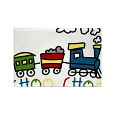 Choo Choo Rectangle Magnet