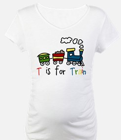 T Is For Train Shirt