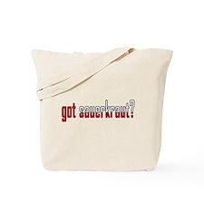 got sauerkraut? Flag Tote Bag