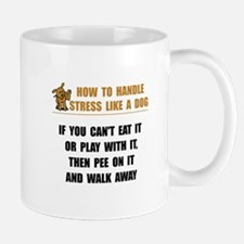 Stress Like Dog Mug