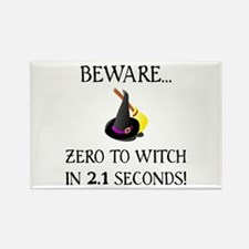 Zero To Witch Rectangle Magnet (100 pack)