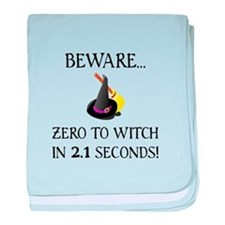 Zero To Witch baby blanket