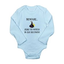 Zero To Witch Long Sleeve Infant Bodysuit