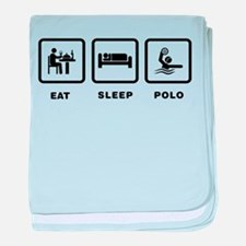 Water Polo baby blanket