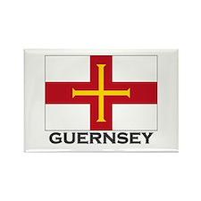 Guernsey Flag Stuff Rectangle Magnet