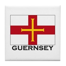 Guernsey Flag Stuff Tile Coaster