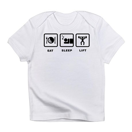 Weightlifting Infant T-Shirt