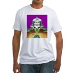A World With A View Fitted T-Shirt