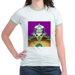 A World With A View Jr. Ringer T-Shirt