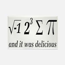 I Ate Some Delicious Pi Math Joke Rectangle Magnet