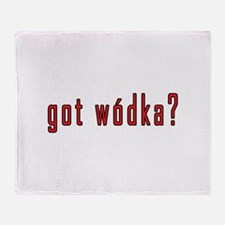 got wodka? Throw Blanket