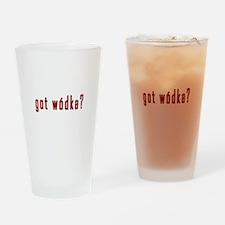 got wodka? Drinking Glass
