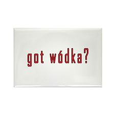 got wodka? Rectangle Magnet