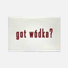 got wodka? Rectangle Magnet