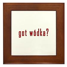 got wodka? Framed Tile