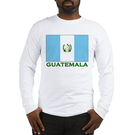 Flag of Guatemala Long Sleeve T-Shirt