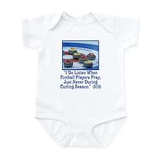 God Listens Infant Bodysuit
