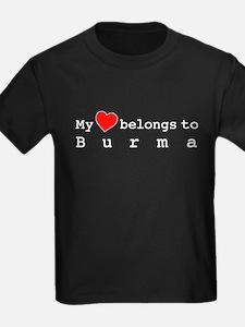 My Heart Belongs To Burma T