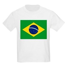 Brazil Flag Kids T-Shirt